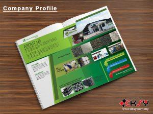 Company Profile Design Ipoh