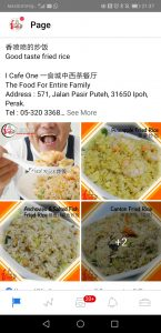 Food & Beverage Facebook advertising in Ipoh, Perak