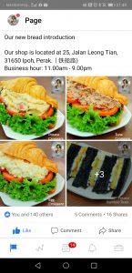 Food & Beverage Facebook advertising in Ipoh, Perak