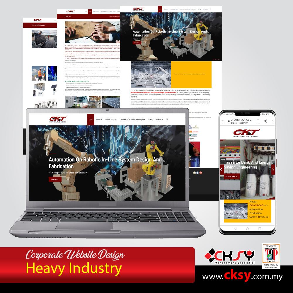 Website Design Service in Ipoh, Perak, Malaysia