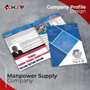 Manpower Supply Company Profile Design