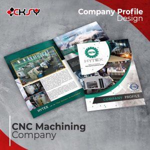 CNC Machining Company Profile Design