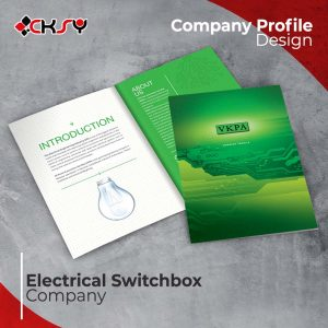 Electrical Switchbox Company Profile Design
