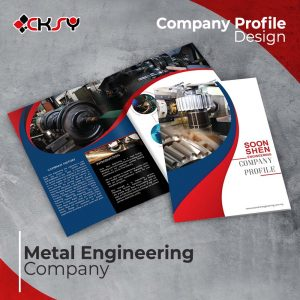 Metal Engineering Company Profile Design