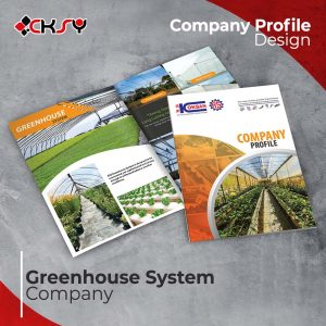 Greenhouse System Company Profile Design