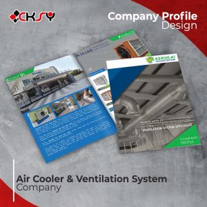Air Cooler Company Profile Design