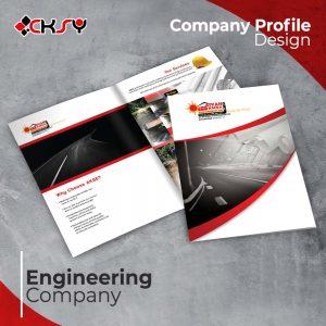 Engineering Company Profile Design
