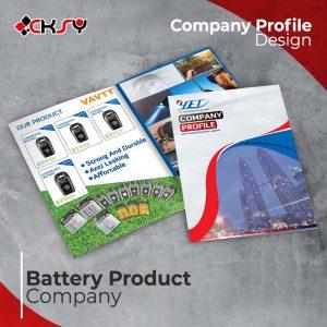 Product Company Profile Design