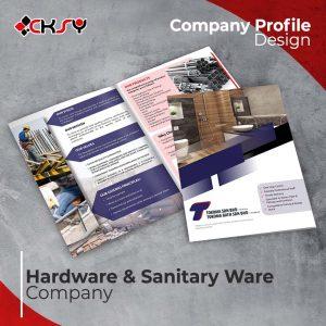 Hardware Company Profile Design