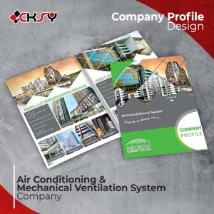ACMV Company Profile Design